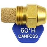 Danfoss Oil Fired Boiler Burner Nozzle 0.55 x 60 H USgal/h ° Degree Spray Pattern Heating Jet 2.11 Kg/h by Danfoss
