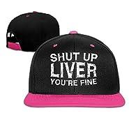 Bizwheo New Adult Baseball Caps Funny Shut up Liver You're Fine Trucker Adjustable Hats G6094