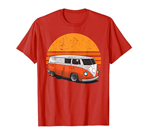 (Austin Texas Vintage Hippie Shirt | Retro Sixties Van)
