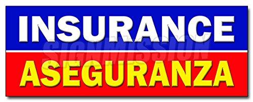 ANZA DECAL sticker salesman agent auto health bilingual ()