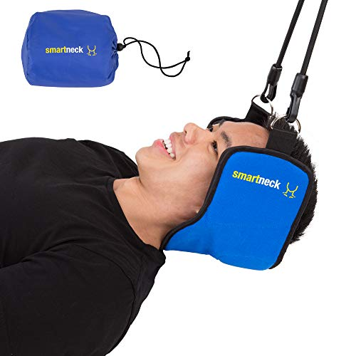 Smartneck Portable Cervical Traction Device Head Hammock for Neck Pain Relief and Physical Therapy ()
