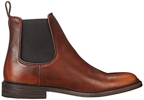 frye men 39 s james chelsea boot cognac smooth vintage. Black Bedroom Furniture Sets. Home Design Ideas