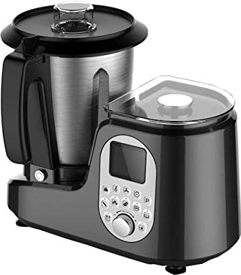 Sirge - Robot de cocina multifunción con 20 programas automáticos + báscula de 5 kg + 12 velocidades + temperatura de hasta 120 °C: Amazon.es: Hogar