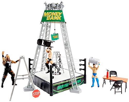 WWE Money in The Bank Playset (Toy Wwe Weapons)