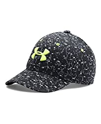 Under Armour Boys' Printed Blitzing Cap, Black (003), X-Small/Small