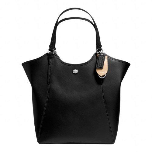 Coach Peyton Black Saffiano Leather Tote - Style 26103