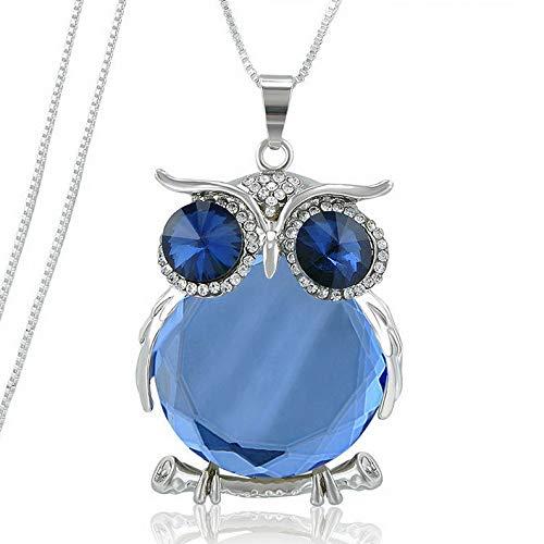 Hebel Fashion Women Crystal Tassel Pendant Long Chain Sweater Necklace Jewelry Gift   Model NCKLCS - 33097  ]()