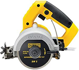 Dewalt Dwc410 110 Mm Hand Held Wet Tile Saw