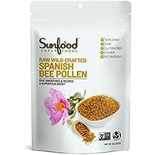 Sunfood Bee Pollen, Spanish, 8oz, Raw, Wildcrafted