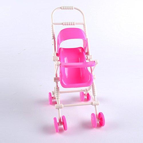 ZREAL - Carrito de muñecas de Juguete para niños de plástico para Cochecito de bebé, Juguetes clásicos: Amazon.es: Hogar