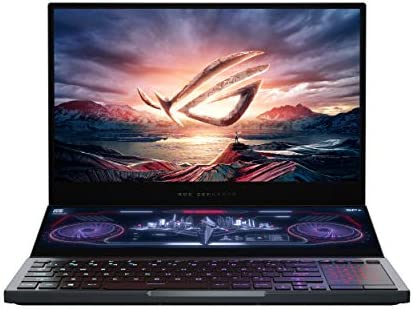 ASUS ROG Zephyrus Duo 15 15.6″ FHD 300Hz/3ms, Intel Core i7-10875H 10th Gen, RTX 2070 SUPER Max-Q 8GB Graphics, Gaming Laptop (32GB/2TB RAID 0 SSD/Office 2019/Windows 10- Gray/2.4 Kg) GX550LWS-HF131TS