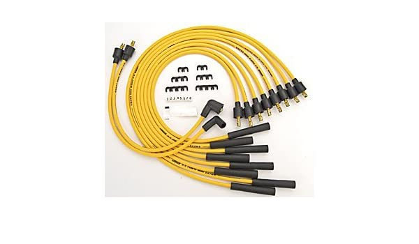 Jegs rendimiento productos 40275 8,5 mm amarillo Ultra Pow R Cables: Amazon.es: Coche y moto