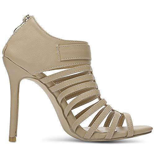 De Talon Été Abricot Chaussure Sandale Haut Femme Chaussures Rosegal a50qZ5