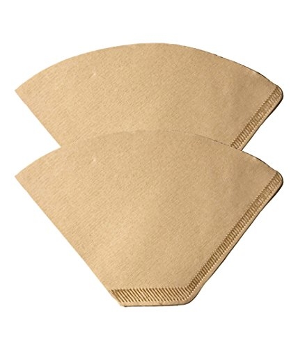 200 Replacement #2 Coffee Filters Premium Unbleached, All Natural, High Quality Brew Brown Paper Cone, Fits All Coffee Makers With #2 Number 2 Coffee Basket Holder including Melitta, by Think - Brew Basket Peoples