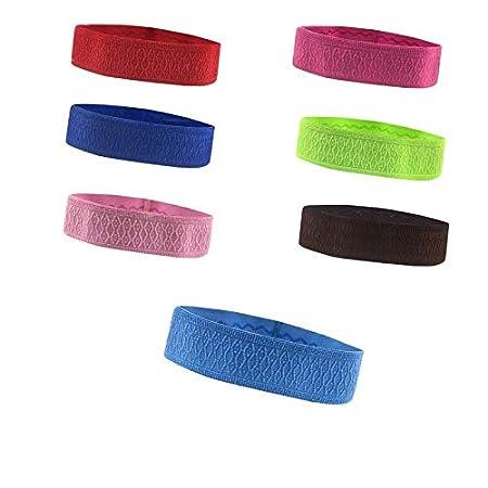 Amazon.com: CUSHY 1 Pcs Non-Slip Yoga Hair Band for Running ...