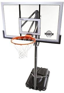 Lifetime 54 Inch Acrylic Portable Basketball Hoop