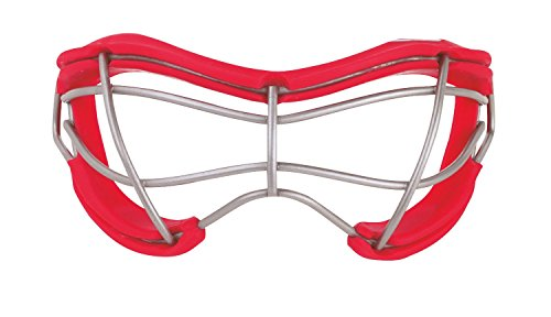 Field Hockey Teams - STX 2See Adult Field Hockey Goggle - Red