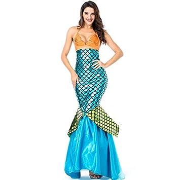 Juego de 2 Piezas para Mujer para Disfraz de Sirena - Top y ...