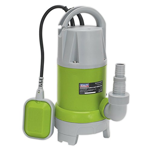 Sealey WPCD215 217ltr/min Automatic Clean & Dirty Submersible Water Pump
