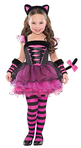 [Children's Purrfect Ballerina Costume Size Medium (8-10)] (Couples Scary Costumes)