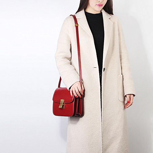 portés en femme bandoulière main à Sac Bordeaux cuir fashion DISSA épaule LF Sac Sac 187 wnRvqYUxSB