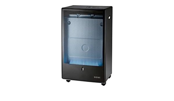 Rowi - Caldera de gas llama azul, antracita, 4200 vatios, pro: Amazon.es: Bricolaje y herramientas