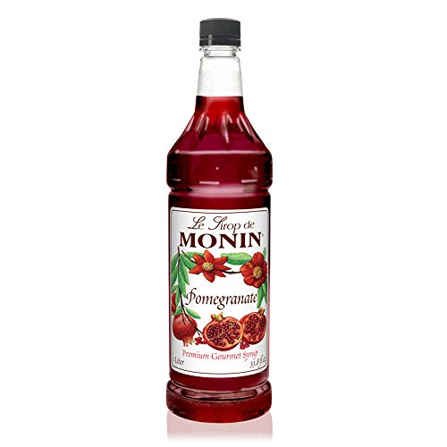 Monin - Pomegranate Syrup, Tart and Sweet, Great for Cocktails and Teas, Gluten-Free, Vegan, Non-GMO (1 - Monin Pomegranate
