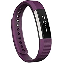 Fitbit Alta Wireless Activity and Fitness Tracker Smart Wristband, Plum, Large (6.7-8.1 in) (Non-Retail Packaging)