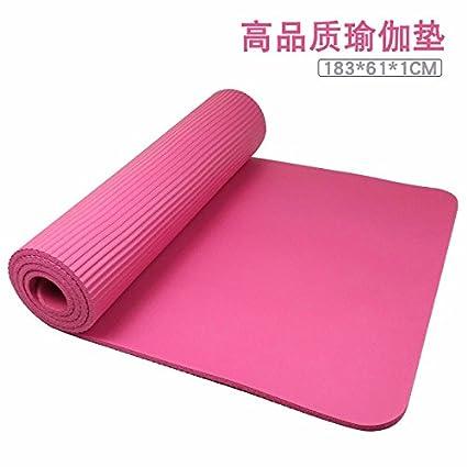 Amazon.com : GTVERNH-NBR Yoga mats Natural Rubber mats Yoga ...