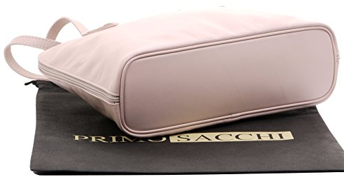 Include Un Rosa Borsa Italiana Marchio Lungo Protettiva Morbida A Large Primo Sacchi® Tracolla Borsa Pelle Manico Di Custodia gPTw5T