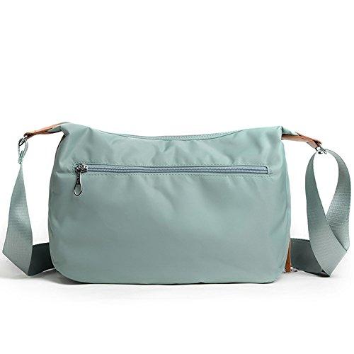Pockets Shoulder Waterproof Multi Everyday Black Lightweight Bag Crossbody Travel Oakarbo 12 Bag BYA8Iq