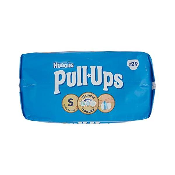 Huggies Pull-Ups Mutandine di Apprendimento per Bambino, Taglia S (8-15 kg), 29 Pezzi 5