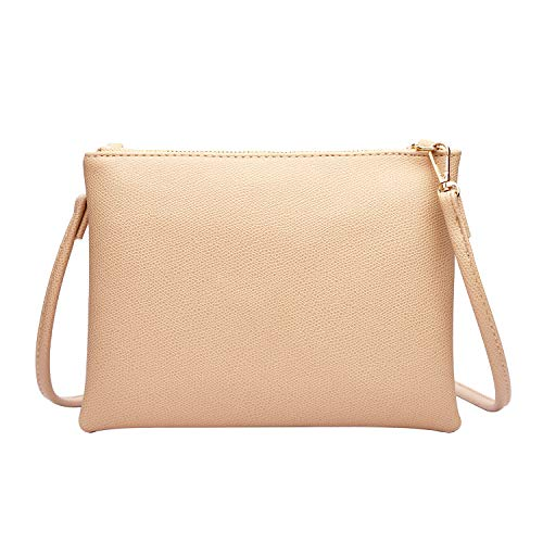 Crossbody Bag for Women, Small Shoulder Purses and Handbags Lightweight PU Leather Wallet with Detachable Strap