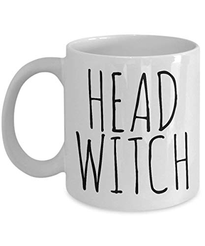Head Witch Cauldron Funny Halloween Gifts For Witches for $<!--$12.00-->