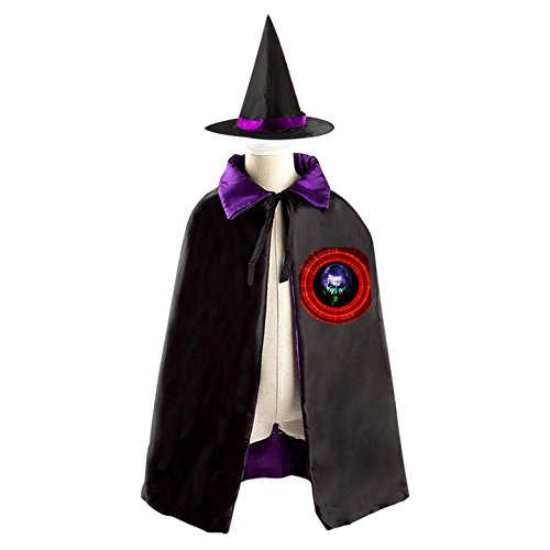 Randy Orton Halloween costume dress with hat reversible witch cloak