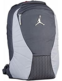 Jordan Retro 12 Backpack W/ Laptop Pocket Dark Grey