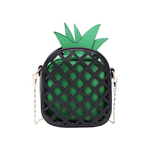 Bolso Lindo del Green Fruta de Black de Red Cuero Bolsos Black Bolso los de la 1qZAww
