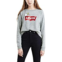 Moletom Levis Relaxed Graphic Crew Snoopy