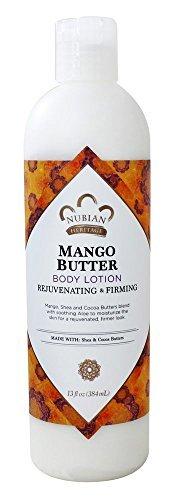 Price comparison product image Nubian Heritage Mango Butter Lotion, 13 Fluid Ounce