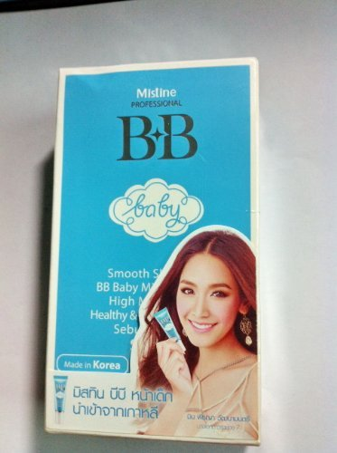 Mistine BB Baby Face Cream Make up Base Foundation SPF 30 for Smooth & Brightening Skin - Foundation Pearl 30 Spf