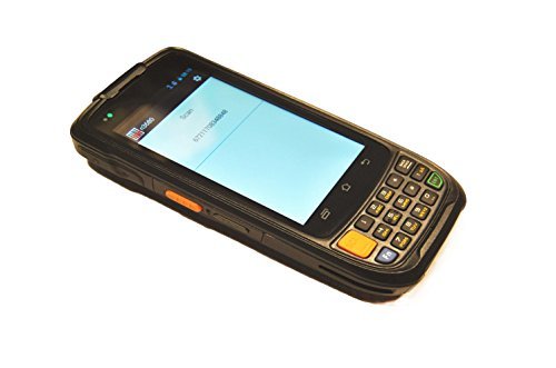 Android Warehouse Scanner Industrial Handheld Terminal With Zebra 1D 2D Bar Code Engine, GPS, Camera, WiFi 802.11b/g/n from Sinicvision