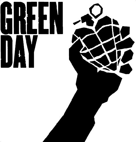 Music Rock Bands Green Day, White, 8 Inch, Die Cut Vinyl Decal, For Windows, Cars, Trucks, Toolbox, Laptops, Macbook-virtually Any Hard Smooth Surface - Green Day Stickers