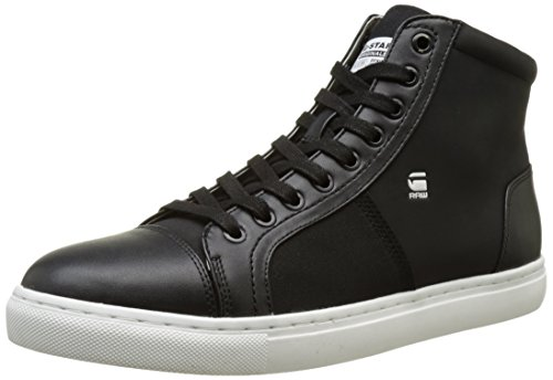 G-Star Raw Mens Toublo Mid Sneaker Toublo Mid Sneaker Black