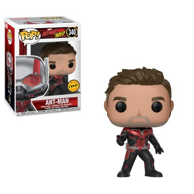 Funko Pop! Marvel: Ant-Man & the Wasp - Unmasked Ant-Man CHASE Limited Edition Vinyl Figure (Bundled with Pop Box Protector Case)