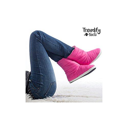 Rose Mamzelle O Chaussons 109 Montants Femme rosa Trendify vfpfXwq