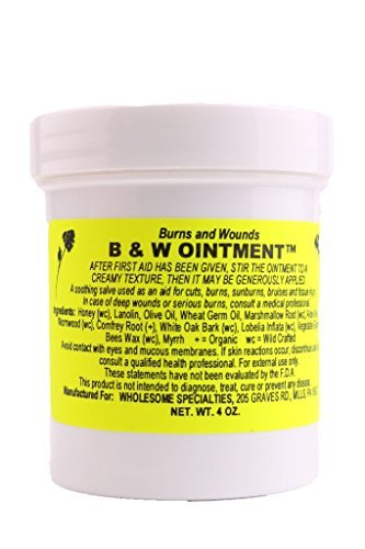 B & W (Burn and Wound) Ointment, 2 Oz. Container