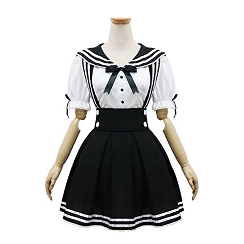 Halloween Cosplay Japan School Uniform Costume Sailor Lolita (Hot Sailor Costumes)