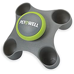 PetWell Therapeutic Handheld Massager for All Size Pets (Dogs, Cats)