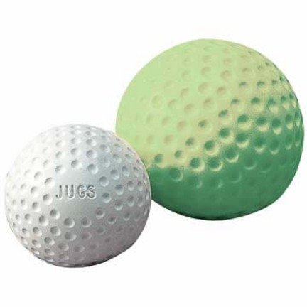 Jugs Sting-Free Dimpled Softballs, Pack of 12 (11-Inch, Yellowish Green)