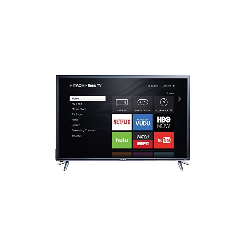 "Hitachi 43"" Class 1080p Roku Smart LED T"